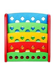 Rainbow Toys Books Shelve with 4 Racks, Multicolor
