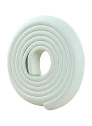Rainbow Toys 5-Meter Baby Safety Cushion Corner Guard, White