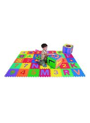 Rainbow Toys Letters and Numbers Play Mat Puzzle Set, 706132, Multicolor
