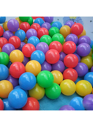 Rainbow Toys Ocean Fun Colorful Soft Plastic Ball Set, 100 Pieces, Ages 3+