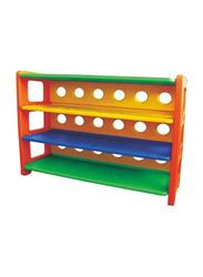 Rainbow Toys Books Shelf, Multicolor