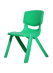 RBWTOYS Solid Plastic Chair for Kids Activities, RW-17109, 44cm, Green