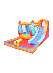 Rainbow Toys Rocket Pad Household Children Inflatable Water Park Castles, Ages 4+