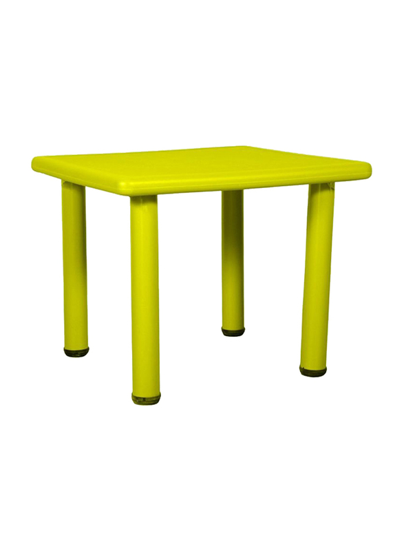 Rainbow Toys Square Shaped Side Table, Yellow