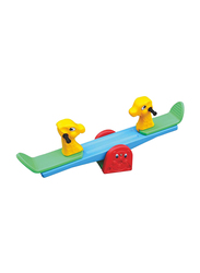 Rainbow Toys Double Rocking Deer Seesaw, 16385, 150 x 32 x 60cm, Ages 3+