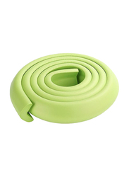 Rainbow Toys 2-Meter Rubber Foam Corner Protector Strip with 2 Corner Guards, Green