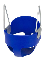 Rainbow Toys Rubber Full Bucket Swing Set, Blue, Ages 2+