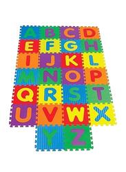 Rainbow Toys 26-Piece Foam Alphabet Puzzle Mat Set, Multicolor