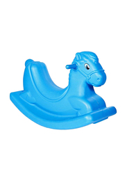 Rainbow Toys Rocking Horse Seesaw, Blue, 16370, Ages 3+