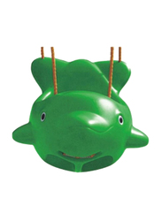 Rainbow Toys Plastic Fish Swing Seat, Green, Ages 3+