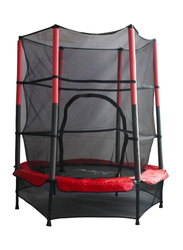 Rainbow Toys Jumper Trampoline with 4 Feet Safety Net, Ages 3+