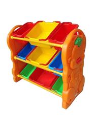 Rainbow Toys Stationery Organizer Shelf, Multicolor