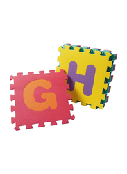 Rainbow Toys English Letters Mats Puzzle, Multicolor