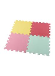 Rainbow Toys 4-Piece Set Recreation Puzzle Mat, Multicolor