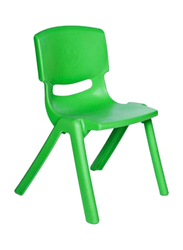 Rainbow Toys Plastic Stackable Chair, 28cm, Green