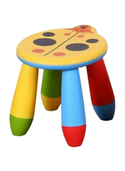 Rainbow Toys Stool Chair, Yellow/Red/Blue/Green