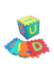 Rainbow Toys 26 Pieces ABC Puzzle Mat Set, Ages 3+, Multicolor