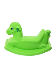 Rainbow Toys Sea Horse Rocking Ride-On Seesaw, Green, Ages 3+