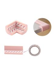 Rainbow Toys 4-Piece Table Corner Edge Protector Set, Pink