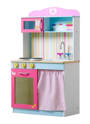 Rainbow Toys Mews Wooden Role Play Kitchen, Ages 3+