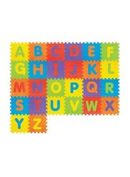 Rainbow Toys 26-Piece Alphabet Puzzle Mat Set, 62 x13 x 32cm, Multicolor