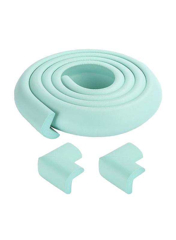 Rainbow Toys 2-Meter Table Corner Edge Protector, Light Green