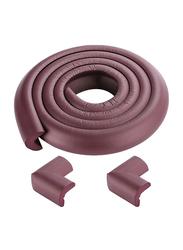 Rainbow Toys 2-Meter Foam Table Edge Corner Cushion Guard Strip, Brown