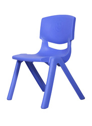 RBWTOYS Solid Plastic Chair for Kids Activities, RW-17109, 28cm, Blue