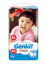 Genki Diaper Pants, Size XL, 12-17 kg, Mega Pack, 44 Count
