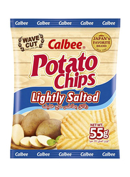 Calbee Lightly Salted Potato Chips, 55g