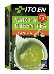 Ito En Macha Ginger Green Tea, 20 Tea Bags, 30g