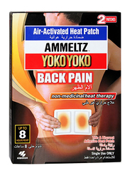 Ammeltz Yoko Yoko Air-Activated Heat Patch for Back Pain, 2-Pieces