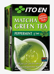 Ito En Macha Peppermint Green Tea, 20 Tea Bags, 30g