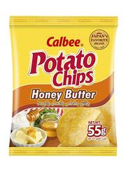 Calbee Honey Butter Potato Chips, 55g