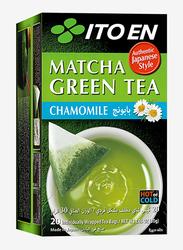 Ito En Macha Chamomile Green Tea, 20 Tea Bags, 30g
