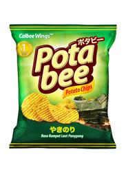Calbee Wings Potabee Seaweed Potato Chips, 68g