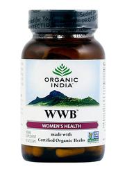 Organic India WWB Herbal Supplement, 90 Capsules