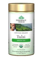Organic India Tulsi Green Tea - 100 grams