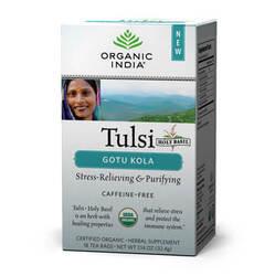 Organic India Tulsi Gotukola  - 18 Tea Bags