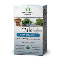 Organic India Tulsi Breakfast  - 18 Tea Bags