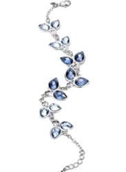 Avon Tamia Charm Bracelet for Women, Silver/Blue