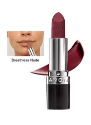 Avon True Delicate Matte Lipstick, 3.6gm, Breathless Nude, Red