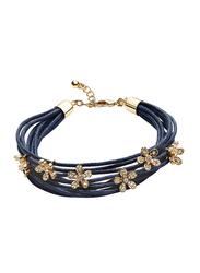 Avon Cristina Multi-Strand Bracelet for Women, Blue