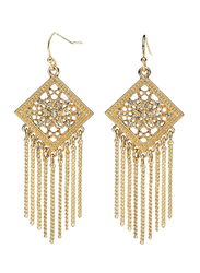 Avon Mirabelle Drop Earrings for Women, Gold