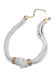 Avon Beau Choker Necklace for Women, White