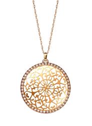 Avon Jalene Longline Filigree Pendant Necklace for Women, Gold