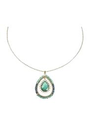 Avon Maxine Pendant Necklace for Women, Turquoise