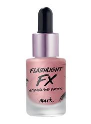 Avon Mark. Flashlight Fx Illuminating Drops, 14ml, Stage Glow 1298411, Pink