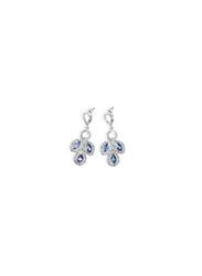 Avon Viola Stone Drop Earrings for Women, Silver