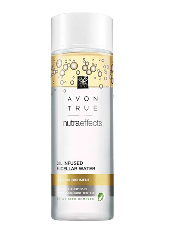 Avon True Nutraeffects Oil Infused Micellar Water, 200ml